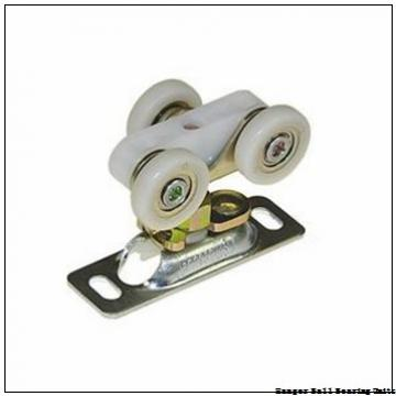1.563 Inch | 39.7 Millimeter x 3.75 Inch | 95.25 Millimeter x 2.875 Inch | 73.025 Millimeter  Sealmaster SEHB-25 Hanger Ball Bearing Units